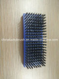 Cepillo azul plástico del tablero del color del cuadrado del alambre de acero (YY-505)