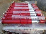 Cilindro ativo dobro mineral do petróleo hidráulico de aço inoxidável do carregador da maquinaria