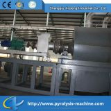 Macchina di riciclaggio di plastica automatica continua
