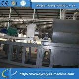 Machine de recyclage plastique en continu continue
