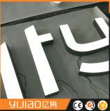 Nomes e sinais da logomarca da empresa