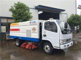 spazzatrice di strada di aspirazione della polvere della via di 4cbm Dongfeng Truck/4X2 LHD da vendere