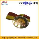Medaglia del reticolo del girasole di alta qualità con il nastro