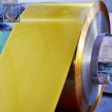 JISの標準石造りの終わりDr8の金ラッカーを塗られたブリキのコイル