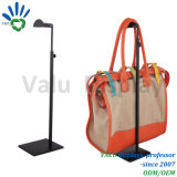 Metal Black Powder Coated Adjustable Bag Handbag Display Stand