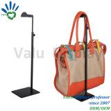 Порошковое покрытие черного цвета металла регулируемая подставка для дисплея дамскую сумочку подушек безопасности