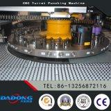 Prensa de sacador serva de la torreta de la transmisión del CNC del O-Marco