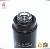 Il nero impaccante di vetro senz'aria di Cosmetice della pompa di alluminio del corpo della lozione