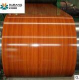 Prepainted鋼鉄装飾の物質的な木製デザイン