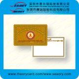 Puce personnalisée des cartes à puce 1K/4K de PVC d'adhésion