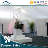 Outdoor Eventのための40m Cheap Temporary Canopy ABS Solid Wall Tentによって20m