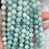 Piedra natural de fantasía de cristal facetado cordón suelto