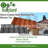 Chips de pedra telha de metal revestido (tipo Romano)