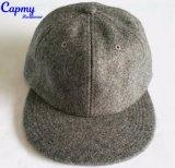 Surtidor en blanco del sombrero del casquillo del Snapback del sombrero de la mezcla de las lanas