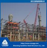 Estructura de acero pesado de alta calidad de haz para químicos