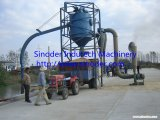 50t Feed Pellet Pneumatic Conveyor System, PVC Powder Pneumatic Conveyor