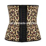 Leopard femmes Corset en latex