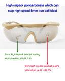 C4 des lunettes de protection tactique Sports Lunettes de soleil avec lentille Changeblae