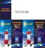 lanterne 3W campante solaire portative avec la radio et la charge d'USB