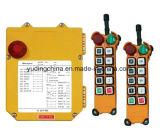 À télécommande sans fil de long terme de fournisseur de la Chine sur outre du commutateur F24-8d