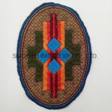 Fashion Colorful Oval Ethnic Embroidery Patch Garment Accessories Wholesale Badge