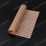 도매 다이아몬드 메시 포장 롤 불꽃 모조 다이아몬드 리본 또는 수지 돌 메시 포장
