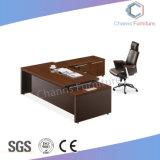 Muebles clásicos en forma de L con mesa de madera para oficina Credenza (CAS-MD18A13).
