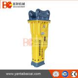 Équipement de pointe du marteau hydraulique pour excavateurs 20-26 tonne