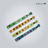 Förderndes Festival gestickte grünes Glühen gesponnene Wristbands