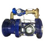 Combinaison80~200 Lxf Dn bride avec compteur d'eau d'impulsion