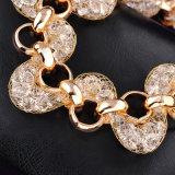 Мода золотых ювелирных изделий ювелирные изделия очарование ручной работы браслет сплава Bangle Crystal