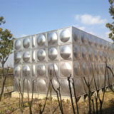 Estrutura interna do tanque de água do aço inoxidável