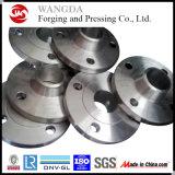 Brides de collet de soudure d'acier du carbone d'A105 Wnrf