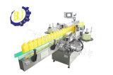 De automatische Tweezijdige Machine van de Etikettering voor Vlakke Flessen
