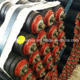 La cinta transportadora de rodillos de impacto / rodillo de goma / transportador de rodillos