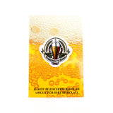 Impresos personalizados Metal Deporte insignia de solapa Stockin Badge en Dubai