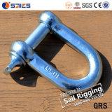 造られた鋼鉄によって電流を通されるヨーロッパのタイプ大きいDの手錠