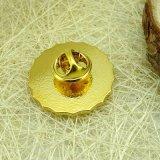 記念品の使用の金属の合金の金の飛行機の折りえりPin