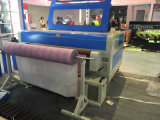 Tagliatrice calda del laser di prezzi di vendita Jq1630 per la sede di automobile dell'indumento del tessuto con l'alimentazione automatica