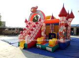 Venta caliente castillo inflable gorila playground para niños y el uso comercial