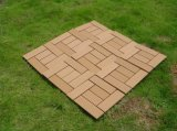 고강도 Moisture 또는 Water Resistant Outdoor DIY WPC Flooring Tiles