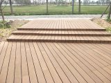 Revestimento do Decking da piscina com bambu tecido costa