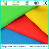 Tissu 100% de peau de pêche du polyester 75D*150d pour les coussins extérieurs