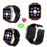 Smart montre téléphone portable avec moniteur de fréquence cardiaque et Bluetooth GT88