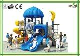 遊園地、コミュニティの屋外の運動場小さい城の町の屋外の運動場か小さい運動場装置