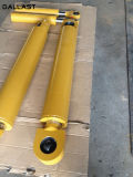 Гидровлический цилиндр для тележки отброса/тележки хлама/корабля санобработки с поршенем
