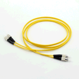 Cable óptico a dos caras unimodal de fibra de FC-FC