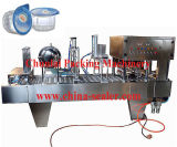 La jalea de llenado automático de tazas de la máquina de sellado