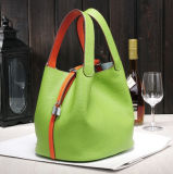 La maniglia 2018 del cuoio dell'unità di elaborazione insacca la borsa delle signore di sacchetto di modo dei sacchetti della benna