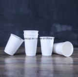 12oz 뚜껑을%s 가진 최신 잔물결 벽 커피 종이컵